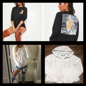 Long sleeve tops all for $39